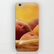 Fuzzy Peach iPhone Skin