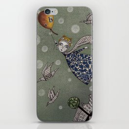 You can fly, Mary! iPhone Skin