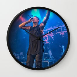 Andy LaPlegua of Combichrist Wall Clock