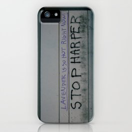 Stop Harper - Lavender Is So Hot Right Now iPhone Case