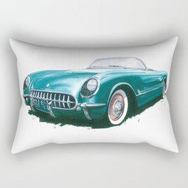 54 Vette Rectangular Pillow