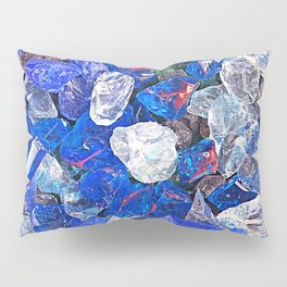 Blue On The Rocks Pillow Sham