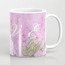 BIRD LOVE AND BUTTERFLIES Coffee Mug