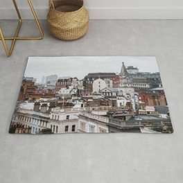 London Urban Landscape with Beautiful Architecture Rug