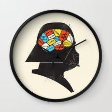 Vader Phrenology Wall Clock