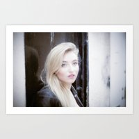 beth hoeckel Art Prints featuring Beth by neutral density