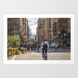 Flatiron District Art Print