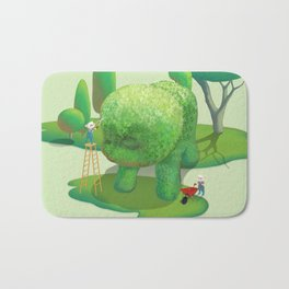 The Topiary Dog Bath Mat
