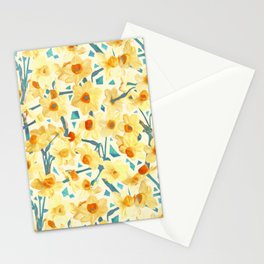 Yellow Jonquils Stationery Cards