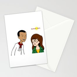 Daria meets Andres Bonifacio Stationery Cards