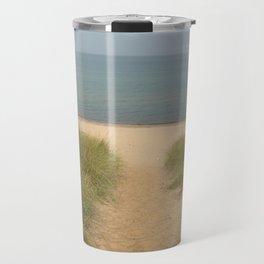 beach time Travel Mug
