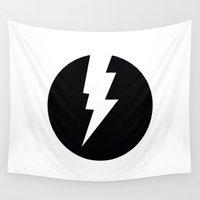 flash Wall Tapestries featuring Flash by Mr & Mrs Quirynen