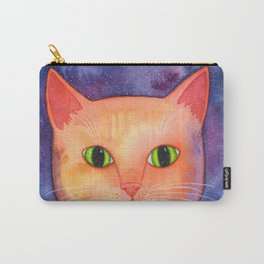 Ginger Cat in Space Carry-All Pouch