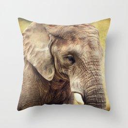 Elephant 4 Throw Pillow