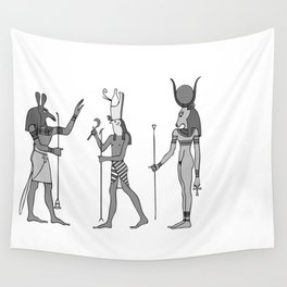 Gods of ancient Egypt Wall Tapestry