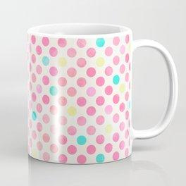 Colorful polka dots pattern Coffee Mug