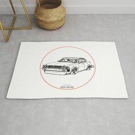 Crazy Car Art 0204 Rug