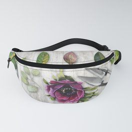 Botanica I Plants and Flowers Fanny Pack