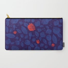 Briar Rose Navy Carry-All Pouch