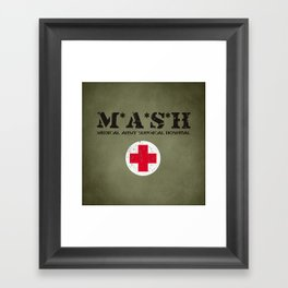 MASH Framed Art Print