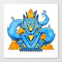 An Animal Named Spirit Canvas Print