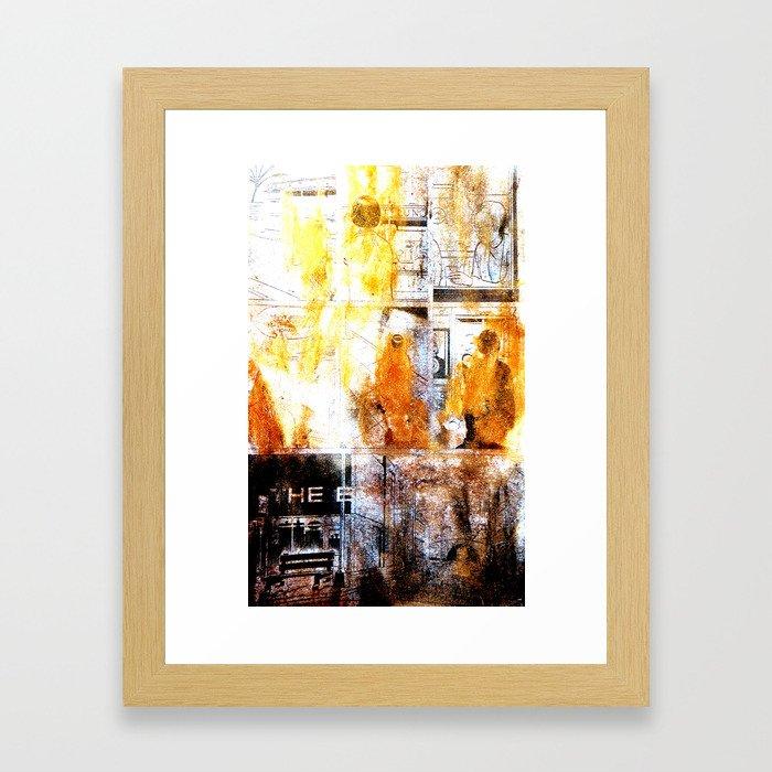 Dead girls : Ghost World Framed Art Print