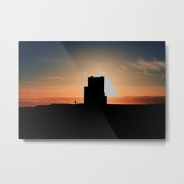 Brien's Tower At Sunset Metal Print