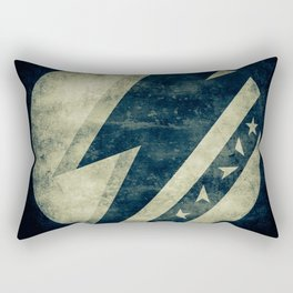 Bowie Dark Stardust Rectangular Pillow
