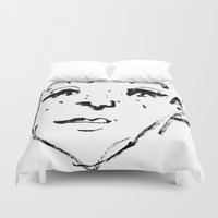sketch Duvet Covers featuring Sketch by Ju/Graphique