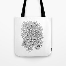 Shattered Faces Tote Bag