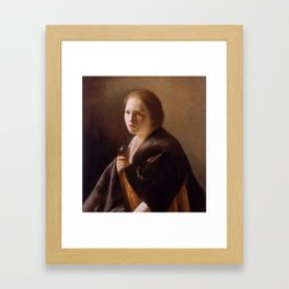 The Magdalen by Paulus Bor, 1635 Framed Art Print