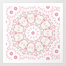 Love Eternal Pink Art Print