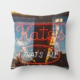 Katz II Throw Pillow