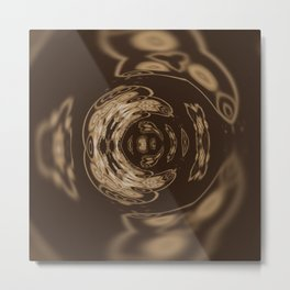 Sequential Baseline Pattern 19 Metal Print