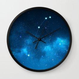 Aries: Astrological Art Wall Clock