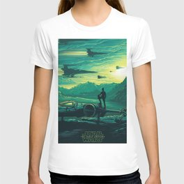 The Force Awakens Alternative Poster design T-shirt