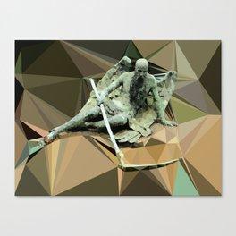 Angel beard morten  Canvas Print
