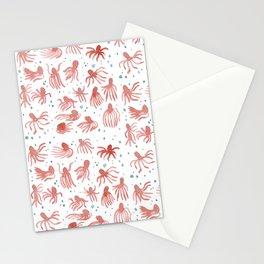 Octopi Stationery Cards