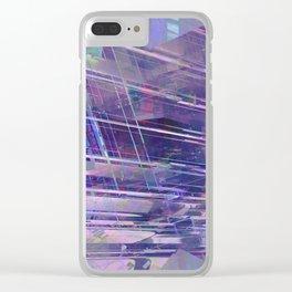 Blue Dream 09 Clear iPhone Case