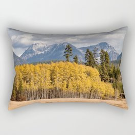 Big Prairie - Glacier National Park Rectangular Pillow