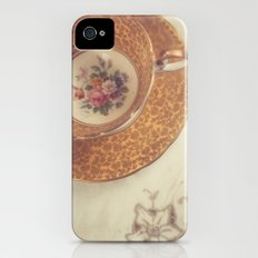 Two Teacups Slim Case iPhone (4, 4s)