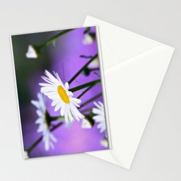 Exit 17 daisy * purple is the color of love Stationery Cards