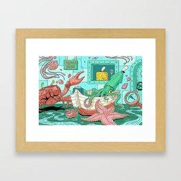 Phylum: Porifera Framed Art Print