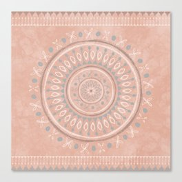"""Astral Lullaby"" in Pink Canvas Print"