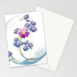 Alaska state flower Stationery Cards