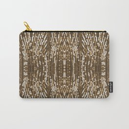 198 - Sepia gold sequins design Carry-All Pouch