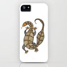 Goanna 8 iPhone Case