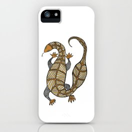 Goanna 8 iPhone Case