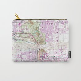Vintage Map of Tempe Arizona (1952) Carry-All Pouch