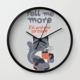 Ironicat Wall Clock